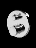 Смеситель для душа монтируемый в стену с термостатом AM.PM Gem F9075600